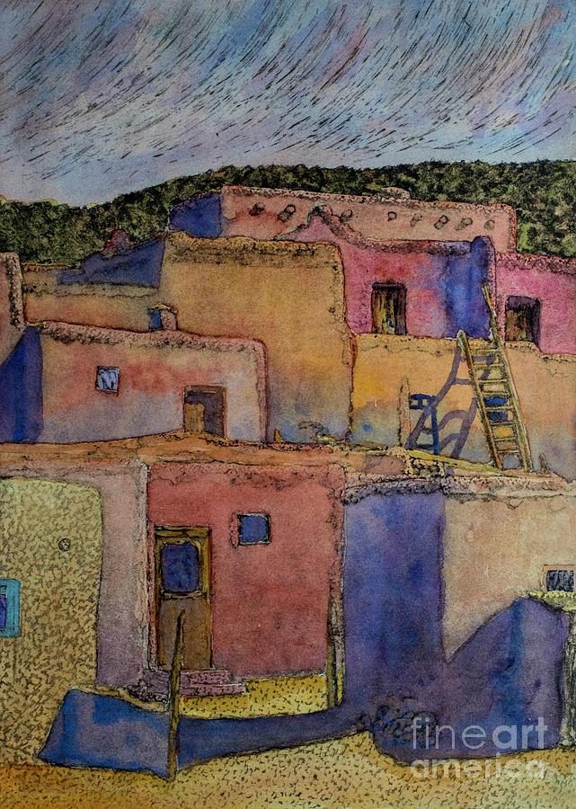 Taos Pueblos by Jackie MacNair