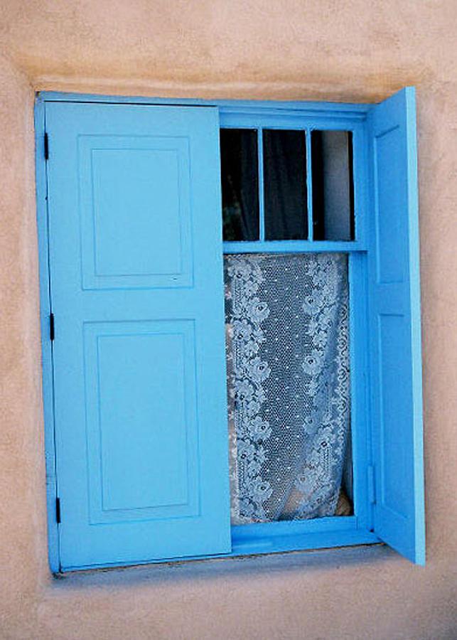 Window Photograph - Taos Window by Diana Davenport