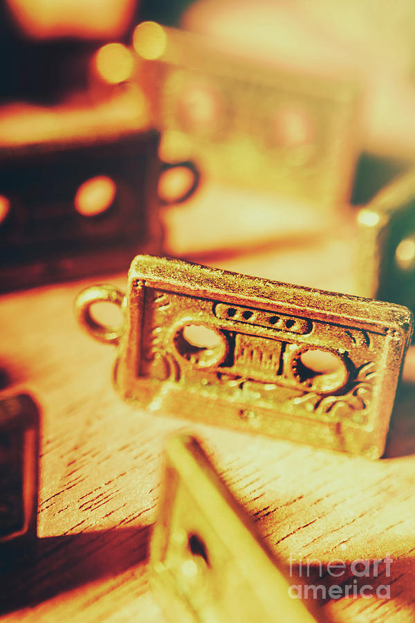 Old Photograph - Tapes From The Golden Oldies by Jorgo Photography - Wall Art Gallery