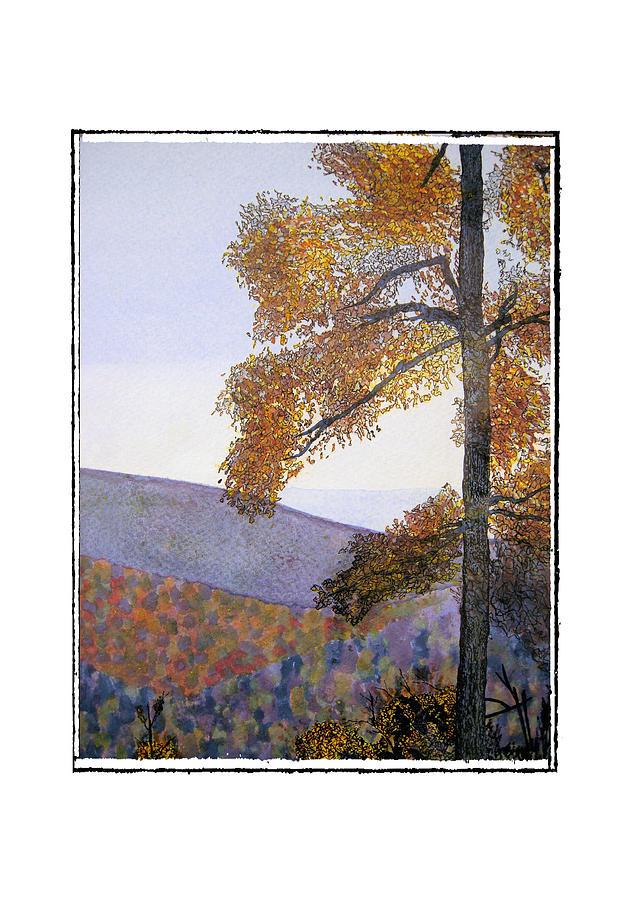 Landscape Painting - Tapestree by Robert Boyette