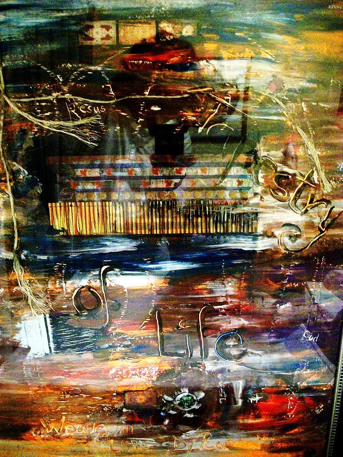 Vision Mixed Media - Tapestry Of Life by Carolyn Sylvester