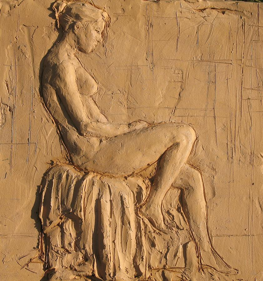 Figure Relief - Tara Reading by Jammie Williams