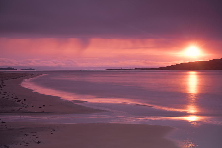 Taransay at sunset by Neil Alexander Photography