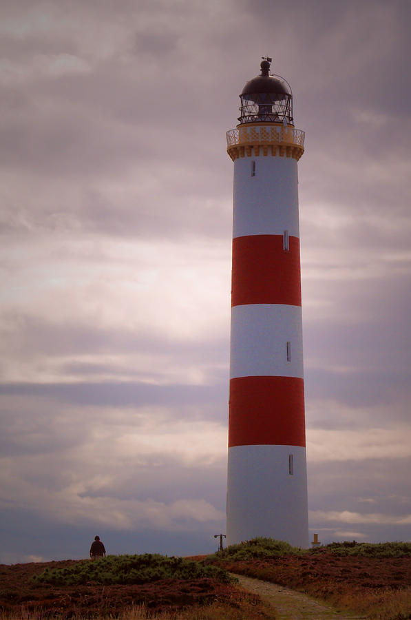 Lighthouse Photograph - Tarbat Ness by Steve Watson