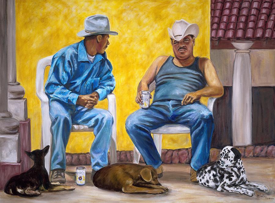 Tarde del Dia de Perro by Pat Haley