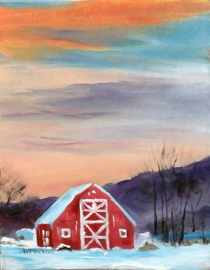 Target Range Barn by Larry Hamilton