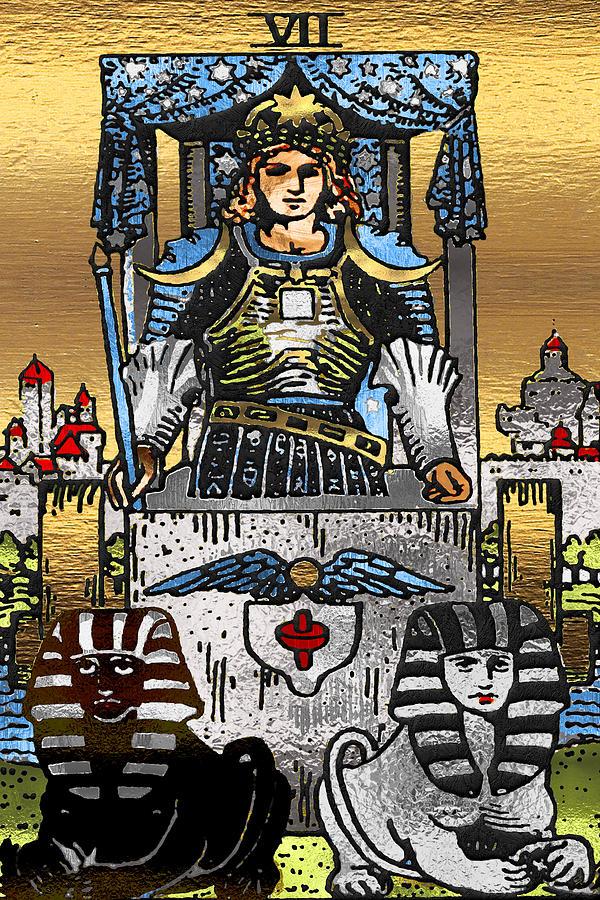 Tarot Gold Edition - Major Arcana - The Chariot