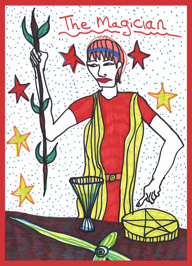Tarot Of The Younger Self The Magician by Sushila Burgess