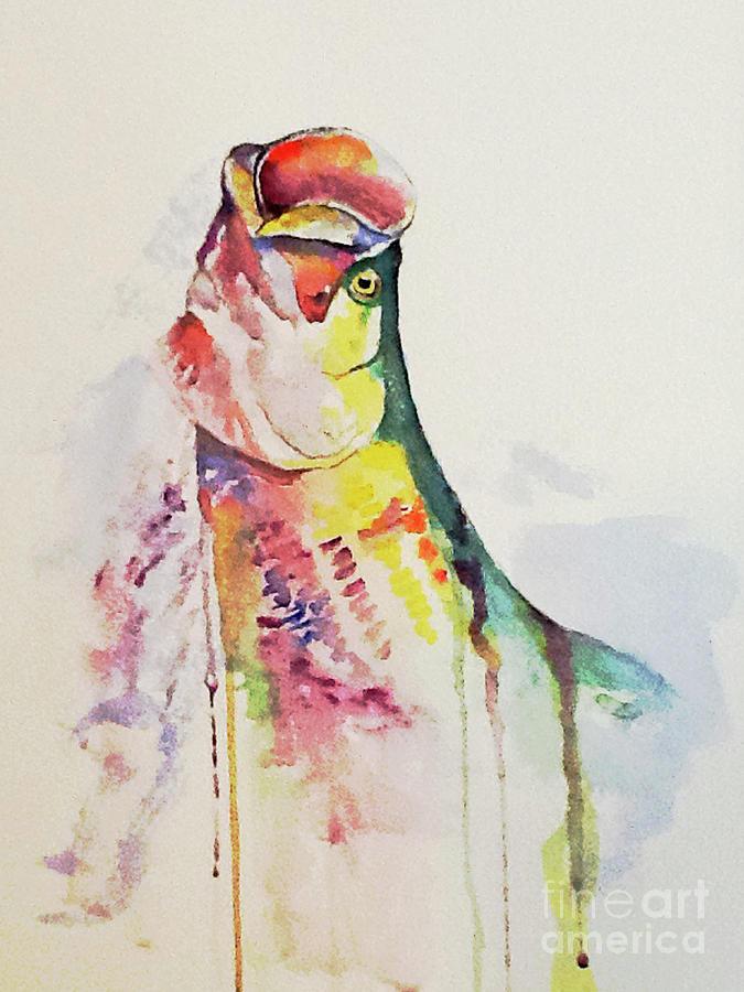 Tarpon Colors by Harold Teel
