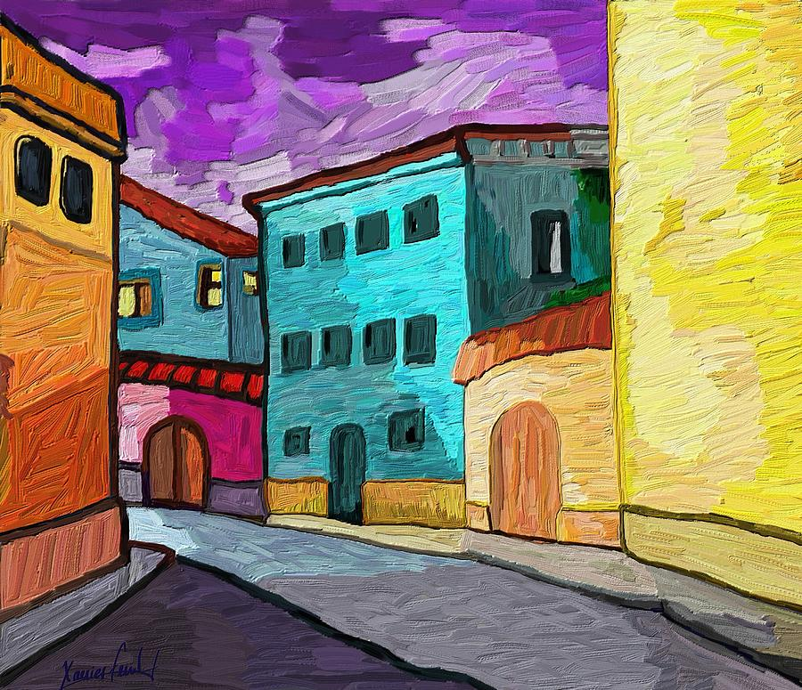 Figurative Painting - Tarraco by Xavier Ferrer