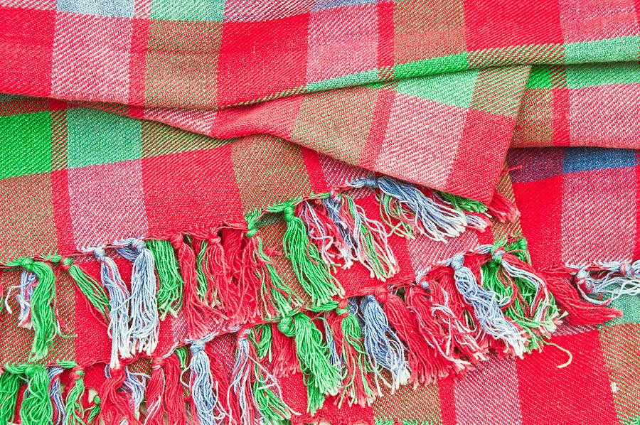 Tartan Blanket Photograph