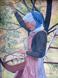 Tasha Painting by Dana Arvidson