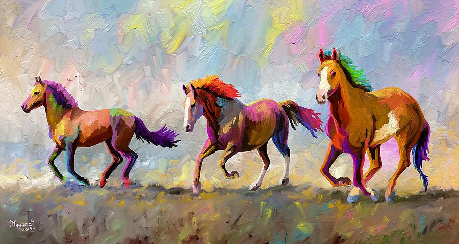 Taste Of Freedom Painting