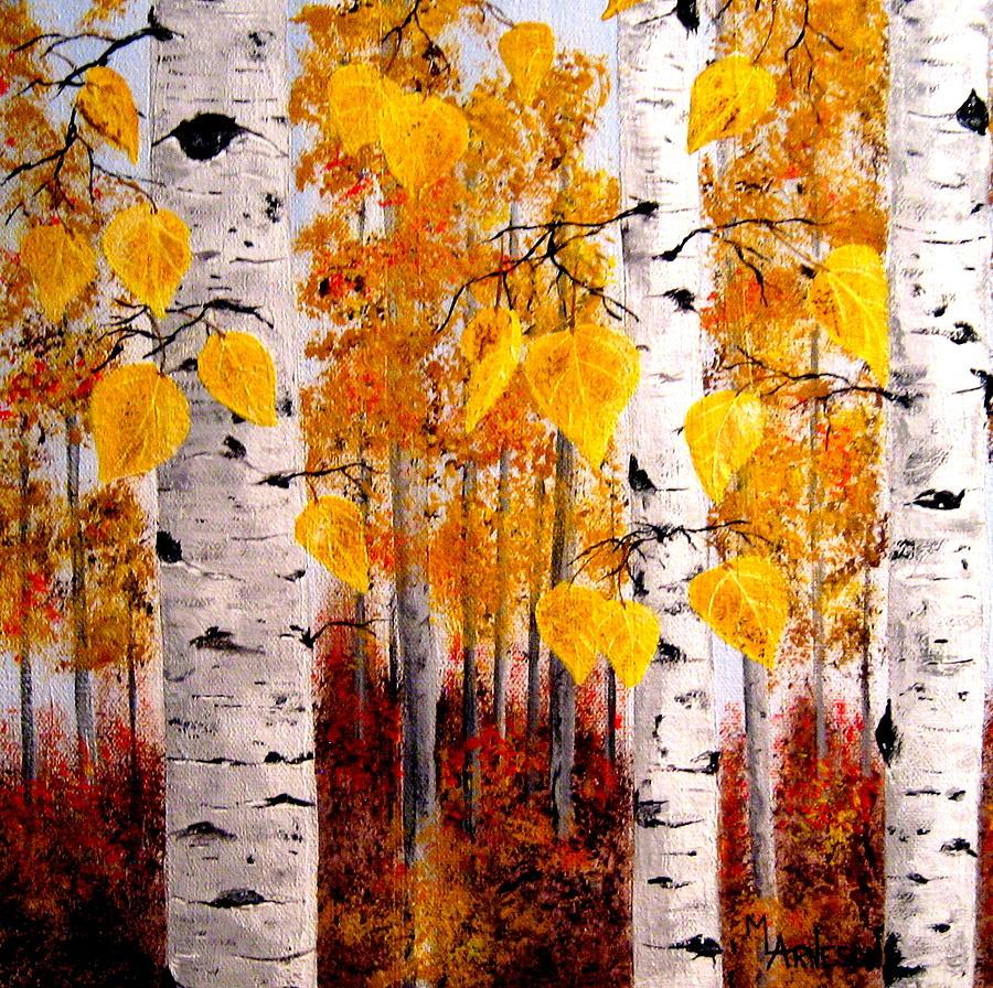 Aspen Painting - Taste Of Honey by Mary Arneson