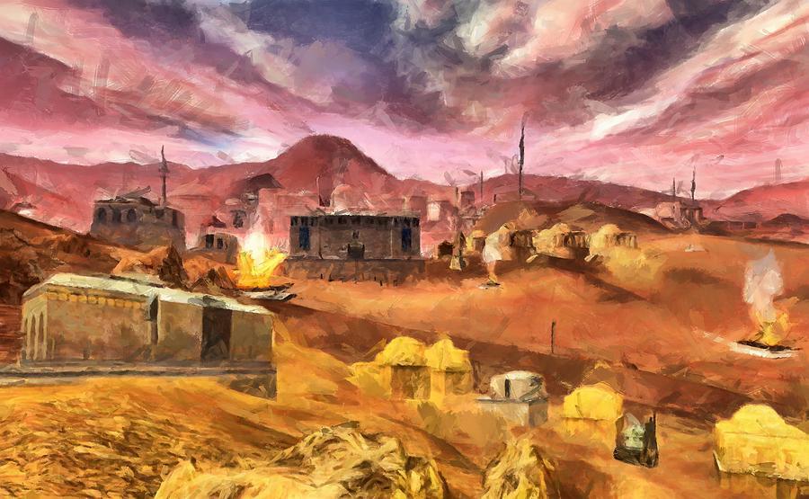 Tatooine by Caito Junqueira