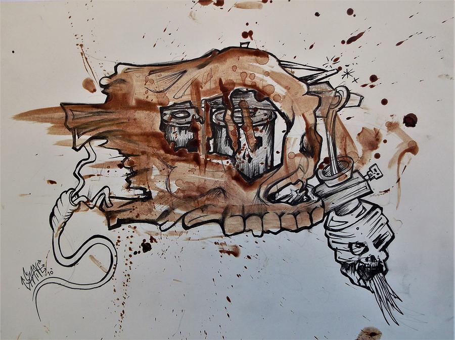 TATTOO BLOOD MACHINE by SAM HANE