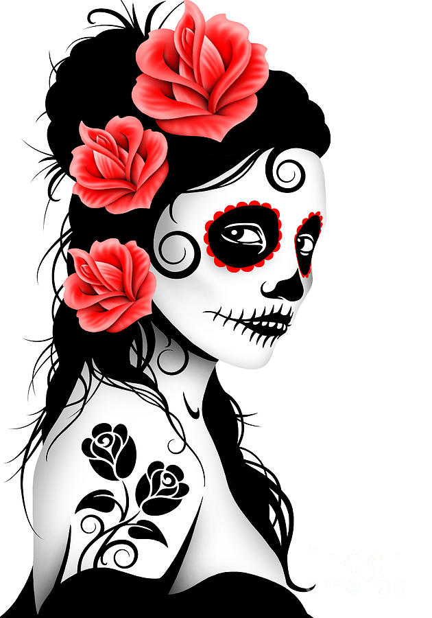 Day Of The Dead Digital Art