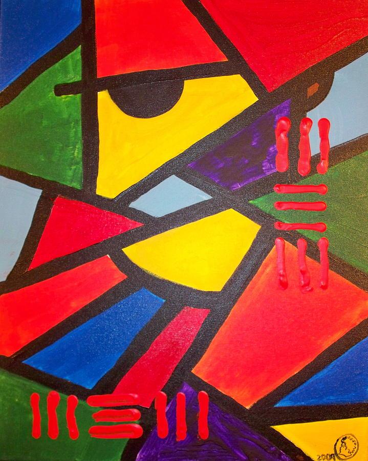 Malik Painting - Tatu by Malik Seneferu