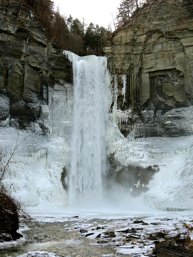 Taughannock Photograph - Taughannock Falls by Azthet Photography