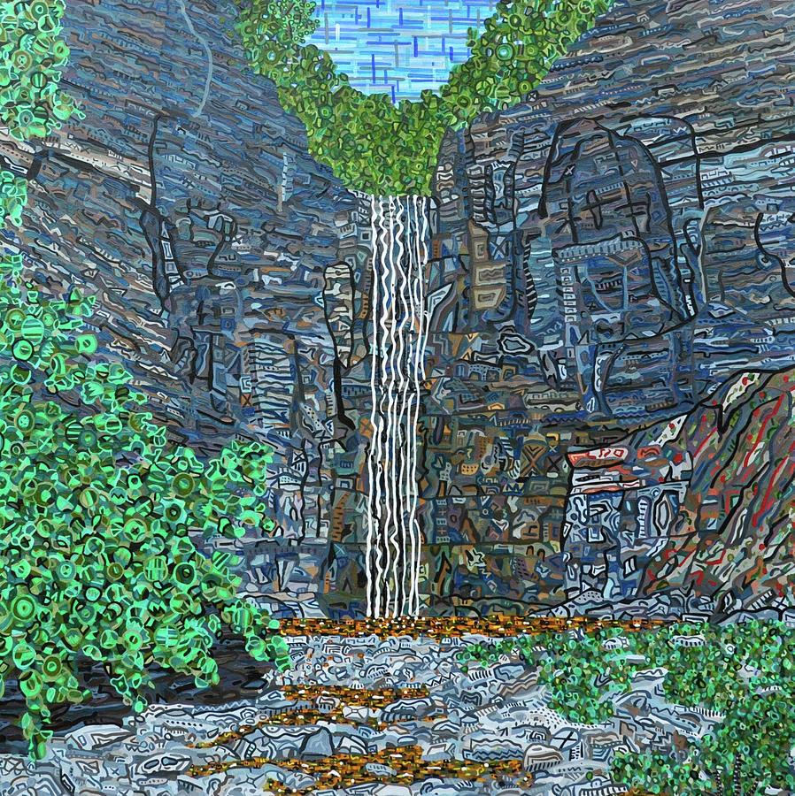 Taughannock Falls Painting - Taughannock Falls by Micah Mullen