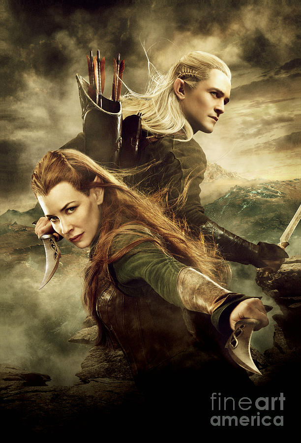 Tauriel And Legolas Photograph by Jonas Brunner