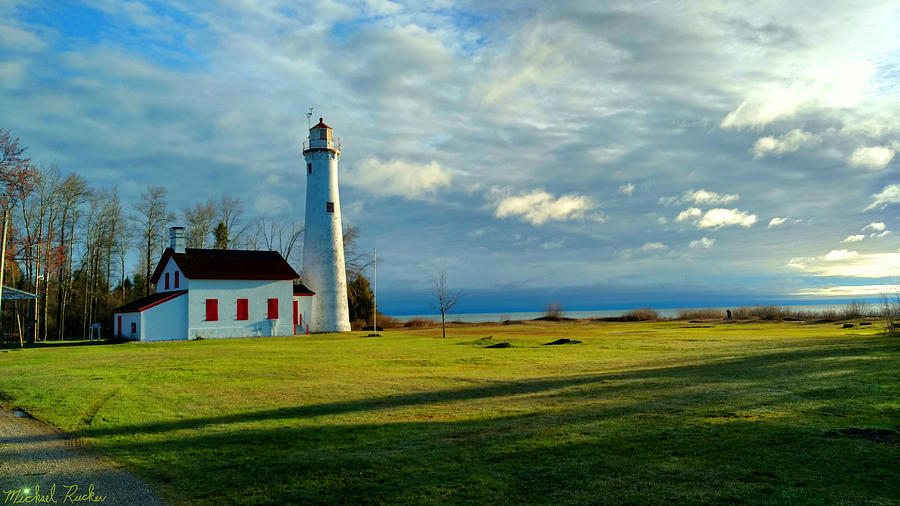Tawas Photograph - Sturgeon Point Lighthouse by Michael Rucker