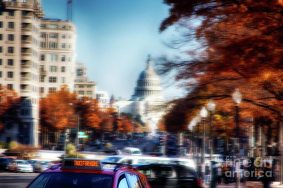 Taxi Photograph - Taxi For Hire  by Steven Digman