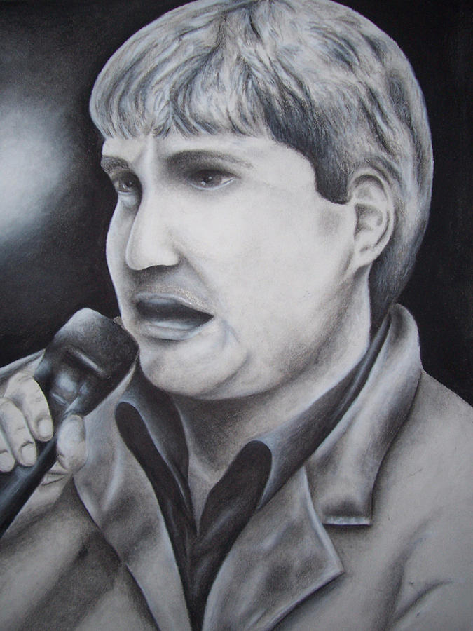 Taylor Hicks Drawing by Shasta Miller