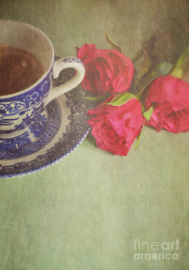 Roses Photograph - Tea And Roses by Lyn Randle