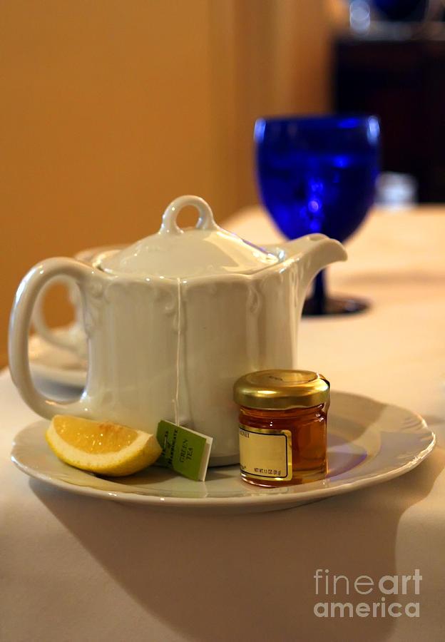 Tea Photograph - Tea At The Ritz by Madeline Ellis