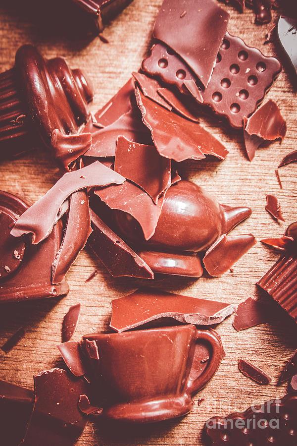 Chocolate Photograph - Tea Break  by Jorgo Photography - Wall Art Gallery