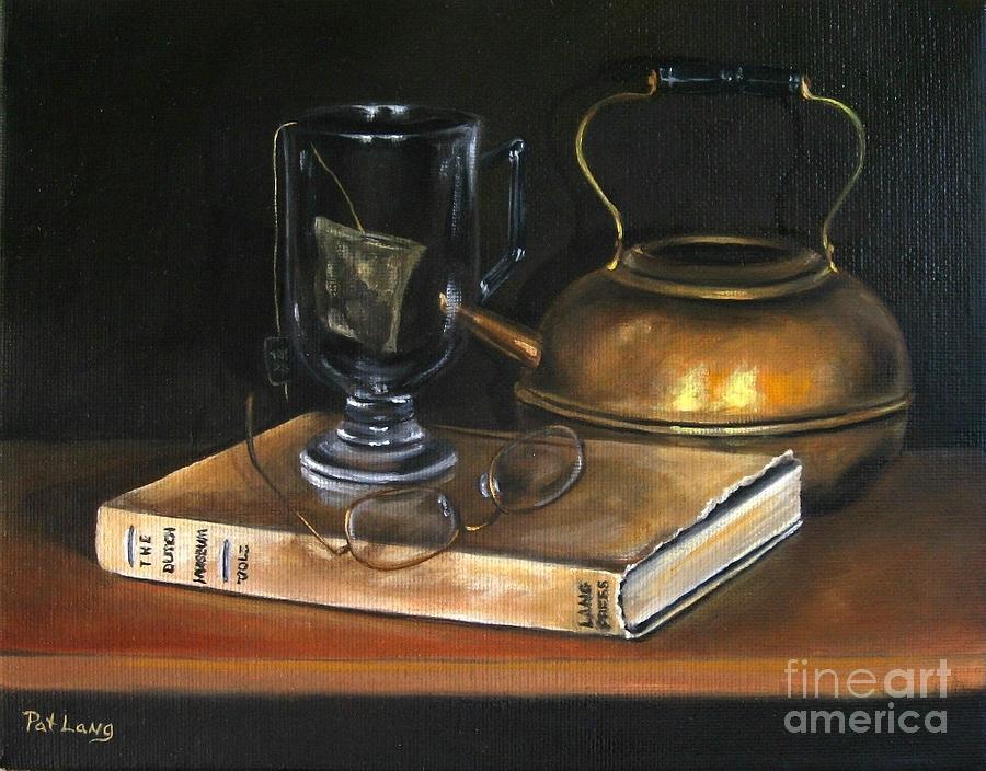 Still Life Painting - Tea Break by Patricia Lang