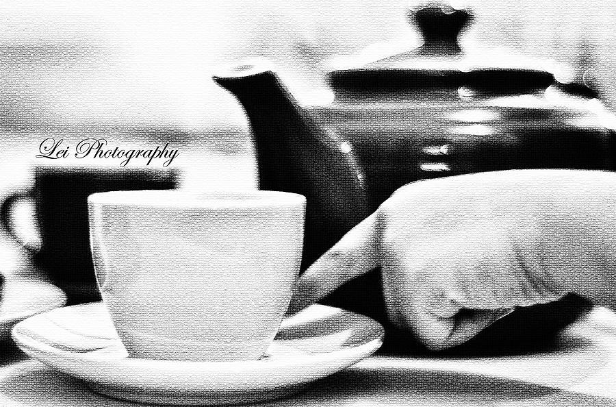 Tea Photograph - Tea Cup by Lei De Leon