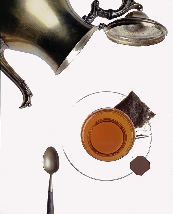 Interior Decor Photograph - Tea For One by Steven Huszar