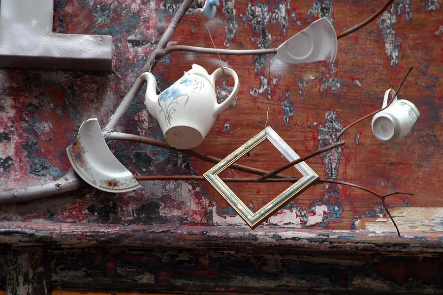 London Photograph - Tea Party by Jez C Self