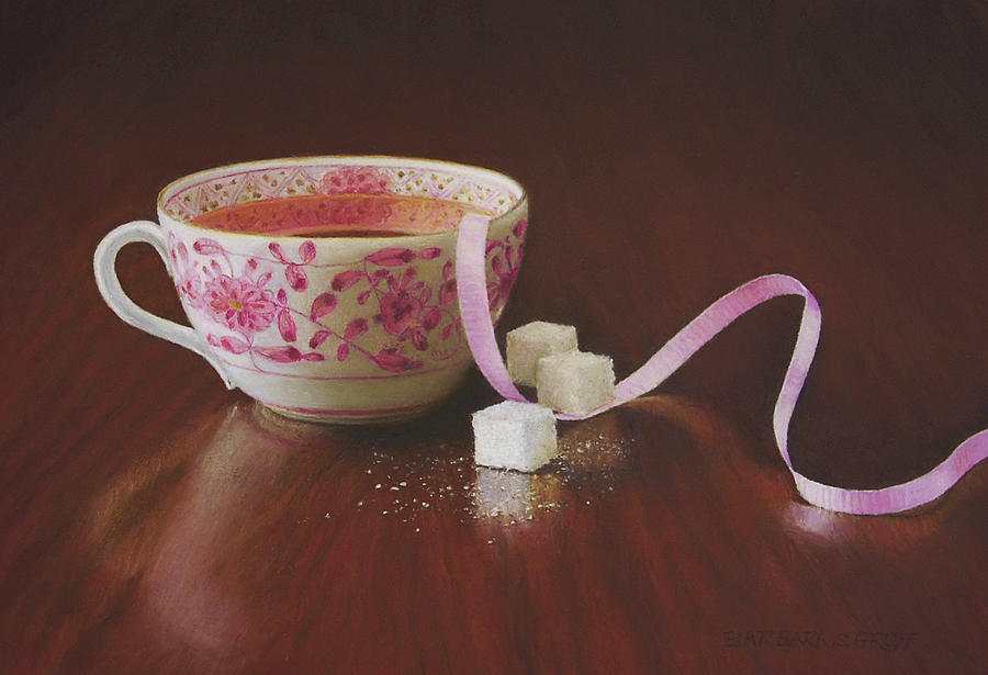Tea Party Pink by Barbara Groff