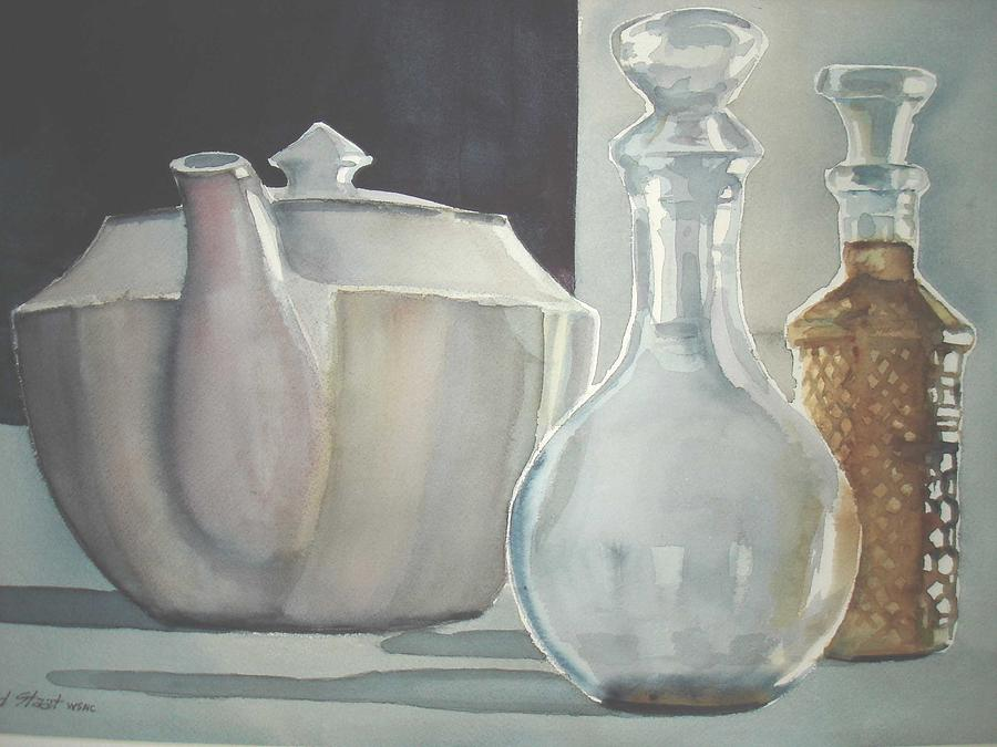 Still Life Painting - Tea Party by Richard Staat