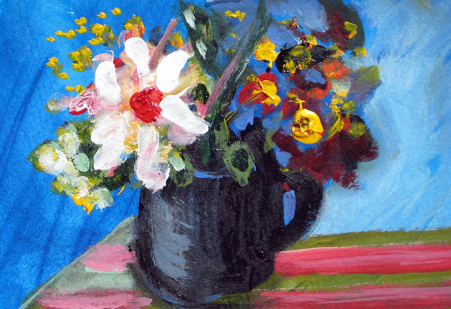 Teapot Painting - Tea Series D by Rebecca Merola