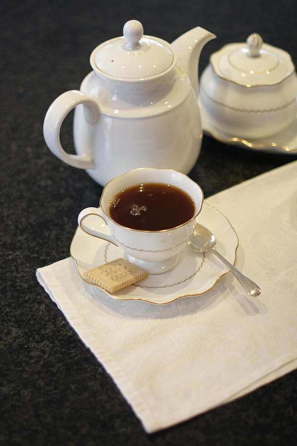 Cup Photograph - Tea Service by Mark Platt
