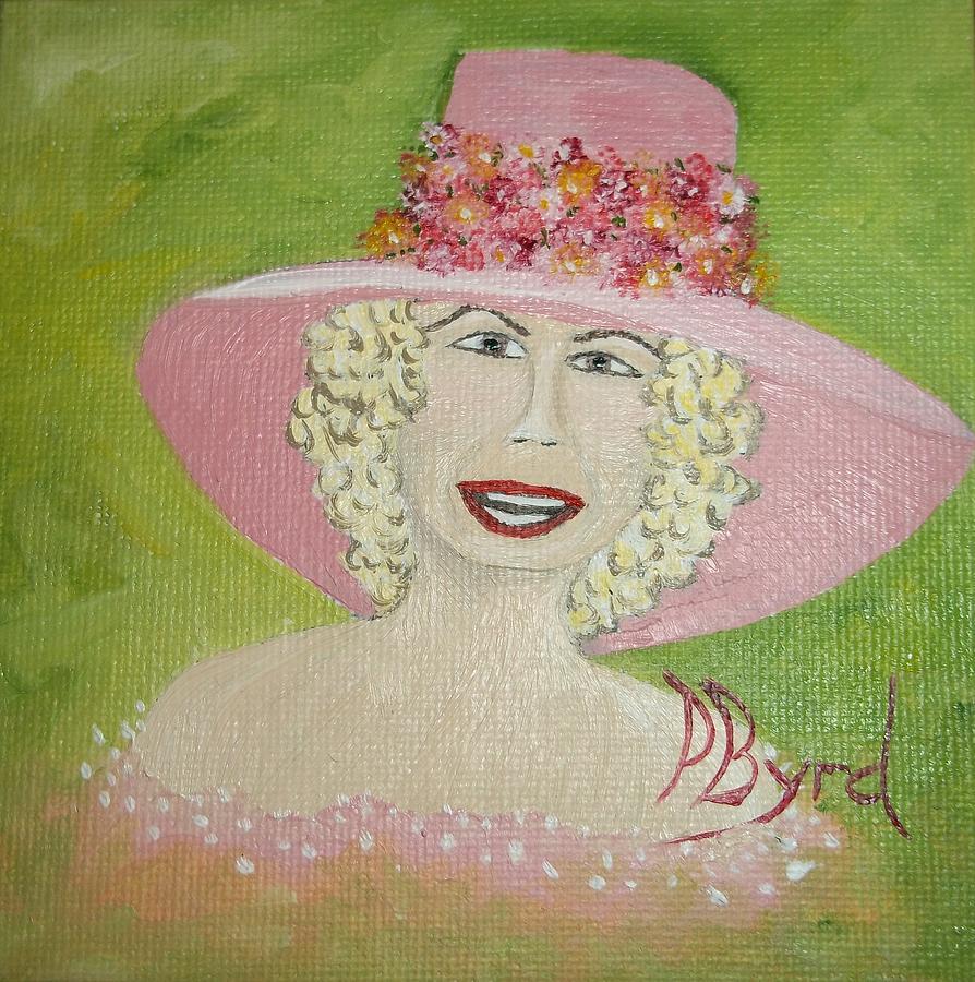 Flowers Painting - Tea Time by Philis Byrd