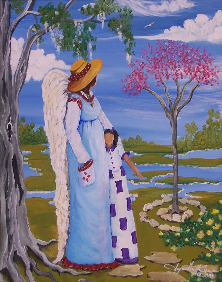 Authentic Painting - Teach Me II by Sonja Griffin Evans