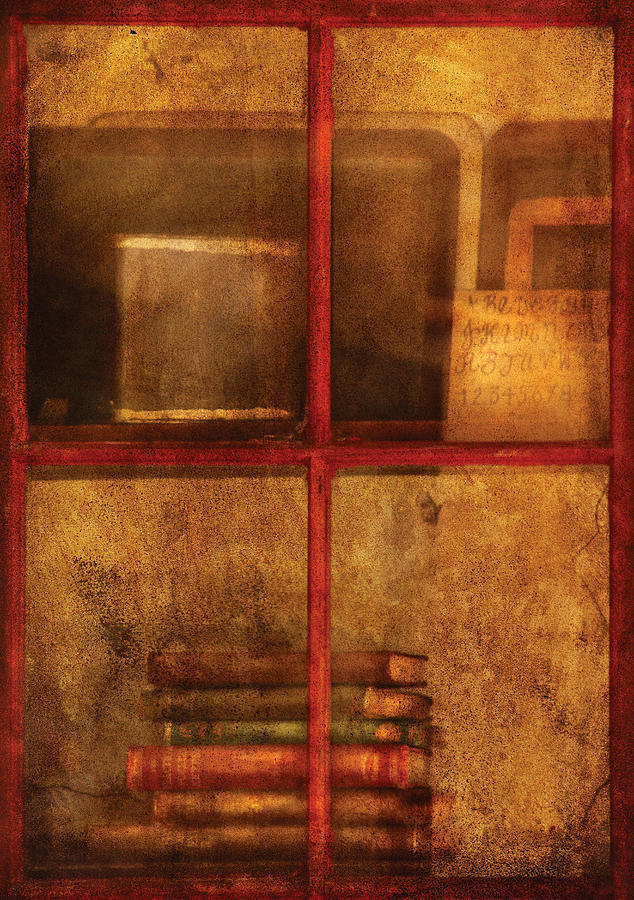 Teacher Photograph - Teacher - School Books by Mike Savad