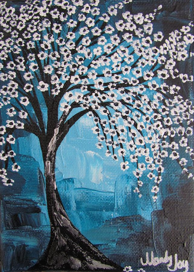 Teal Tree by Mandy Joy