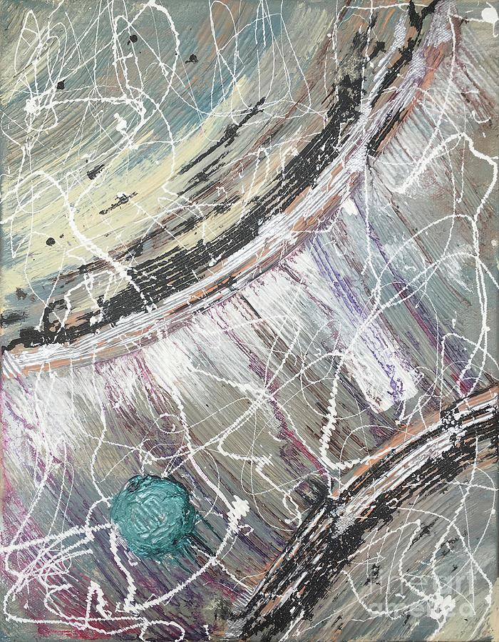 Teal Voyage 2 by Linda Cranston