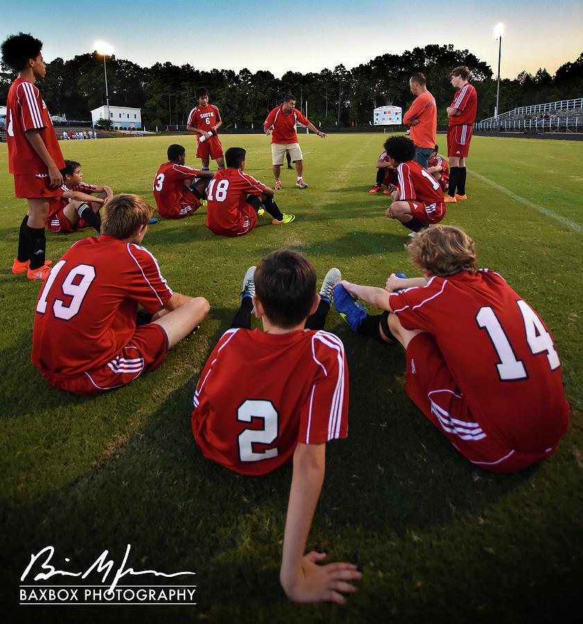 Team Meeting Photograph by Brian Jones