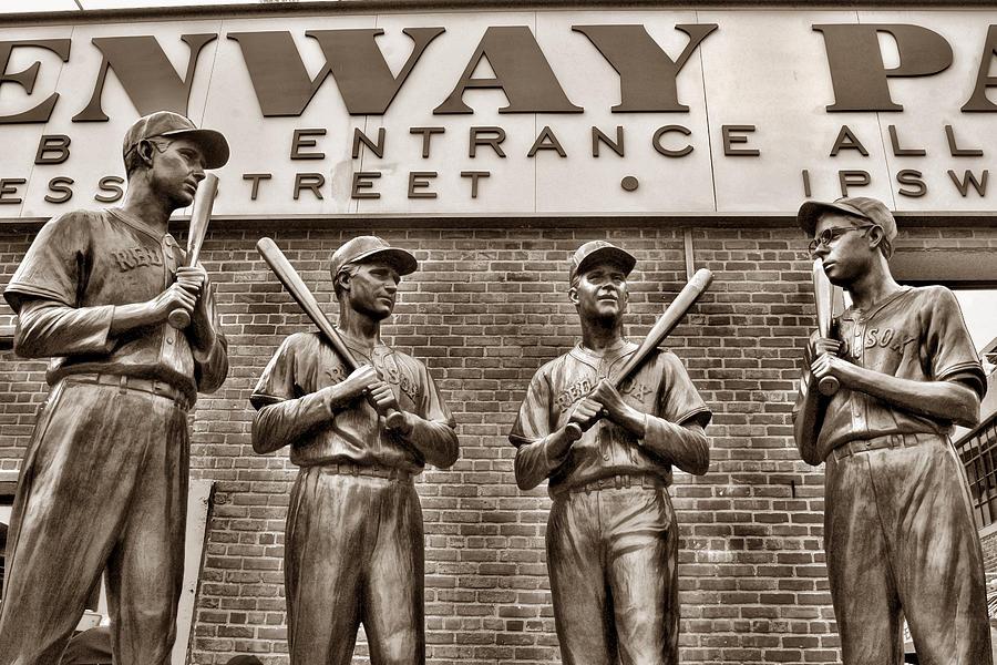Boston Photograph - Teammates 2 by Joann Vitali