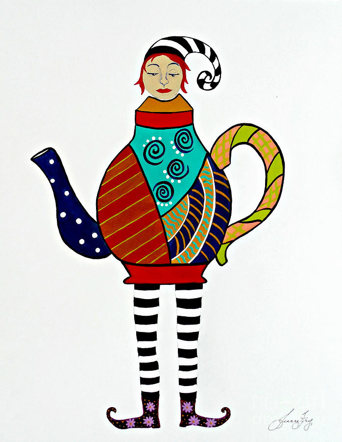Teapot Tempest by Jean Fry