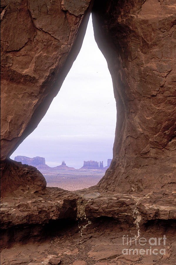 Monument Valley Photograph - Teardrop Arch-monument Valley by Sandra Bronstein