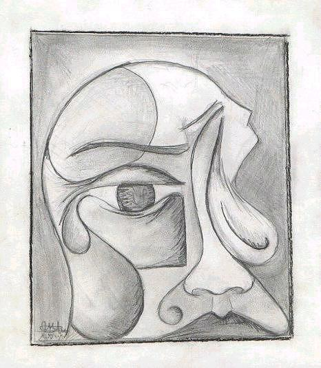 Sorry Drawing - Tears by Ebrahim Metwaly
