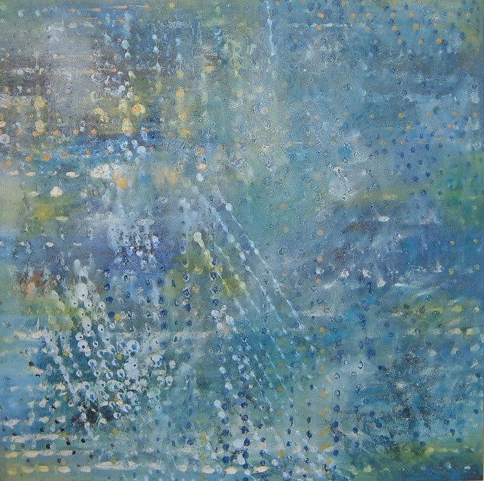 Czech Artist Painting - Tears In Heaven by Kamila ZENATA